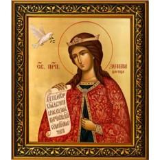 Икона на холсте Ксения Константинопольская Преподобная