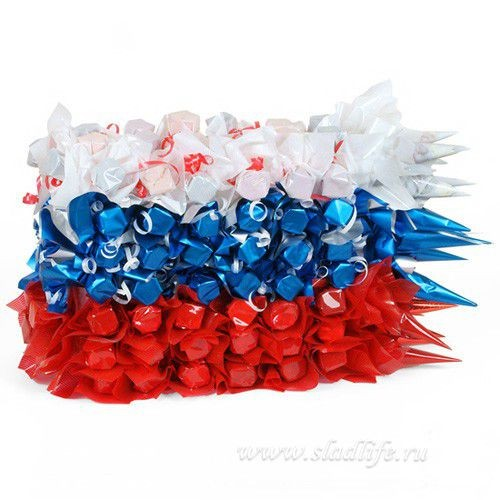Букет из конфет Флаг