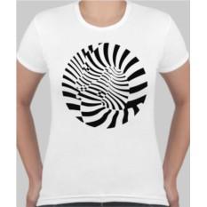 Женская футболка Зебры