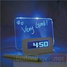 Многофункциональные электронные часы с будильником