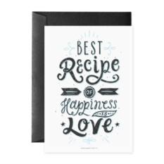 Открытка Best recipe