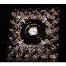 Настенные часы Бриллиантовый квадрат
