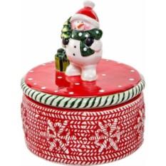 Шкатулка Снеговик от Mister Christmas