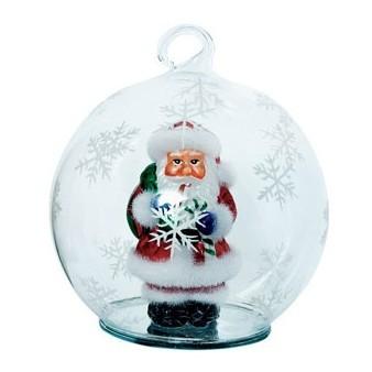 Ёлочная игрушка с Дедом Морозом