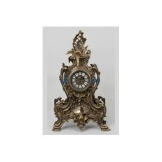 Часы из бронзы Лансароте, каштановые