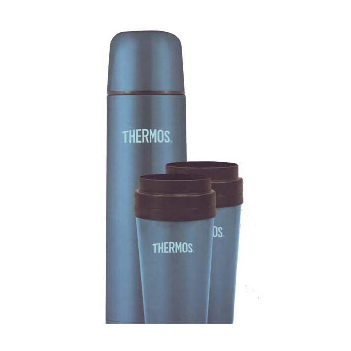 Термос с двумя термокружками