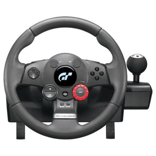 Руль и педали для компьютера LOGITECH Driving Force GT