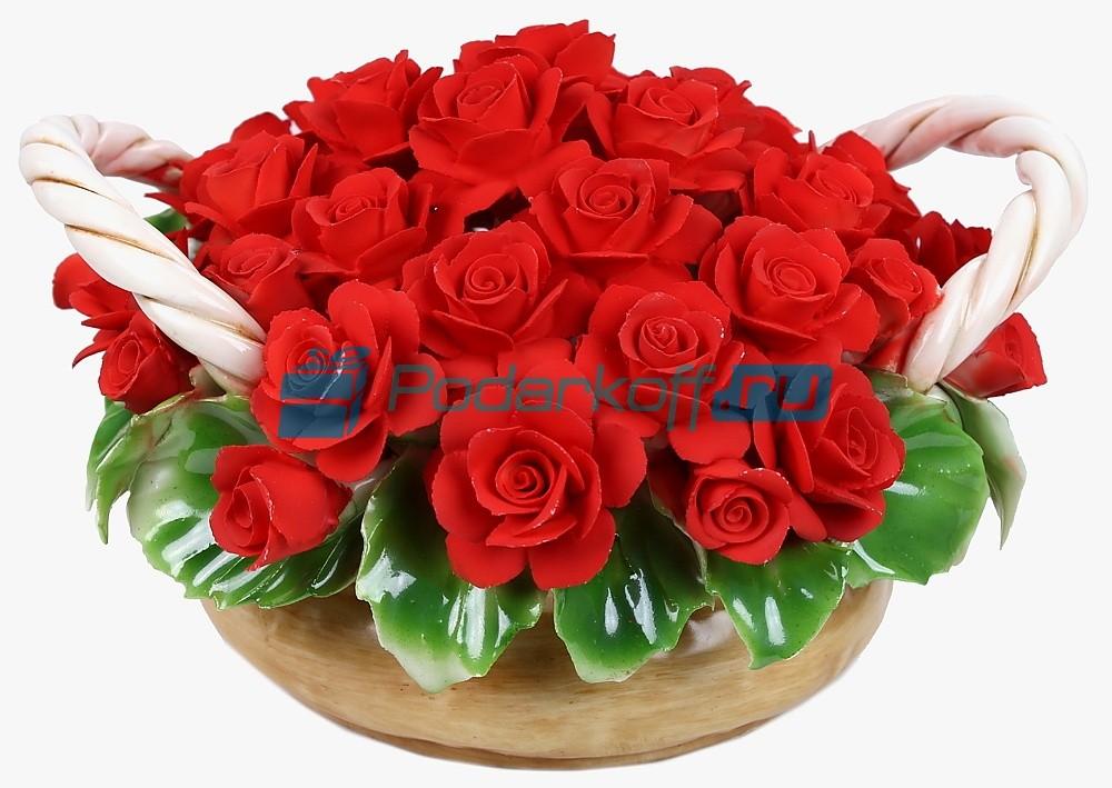 Цветы из фарфора Навсегда в моем сердце