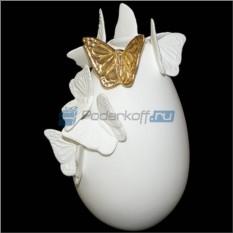 Ваза Золотые бабочки