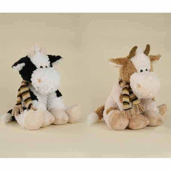 Коровка с шарфом