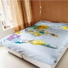 Постельное белье «Карта мира»