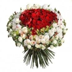 Букет цветов 151 роза (70 см.)