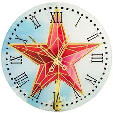 Настенные часы «Кремлевская звезда»