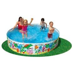 Жесткий бассейн Веселые Рыбки для детей от 3 лет