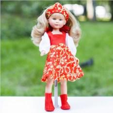 Кукла ASI Селия в русском наряде №2