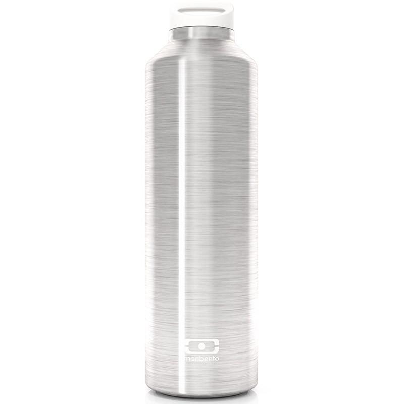 Серебристая бутылка MB Steel