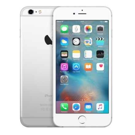 Apple iPhone 6s Plus 128Gb (Silver White)