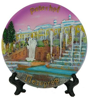 Тарелка декоративная Петергоф