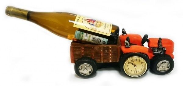 Подставка для бутылки Трактор