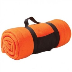 Оранжевый плед Сolor