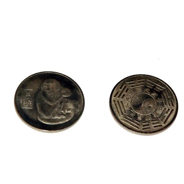 Счастливая монета Год обезьяны
