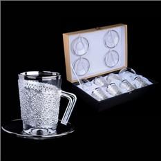 Набор для кофе Мечты о Флоренции на 6 персон, серебро