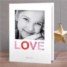 Фотооткрытка Рамка Любовь
