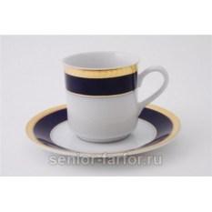 Набор чашек 0,15 л с блюдцем Leander Сабина 31031
