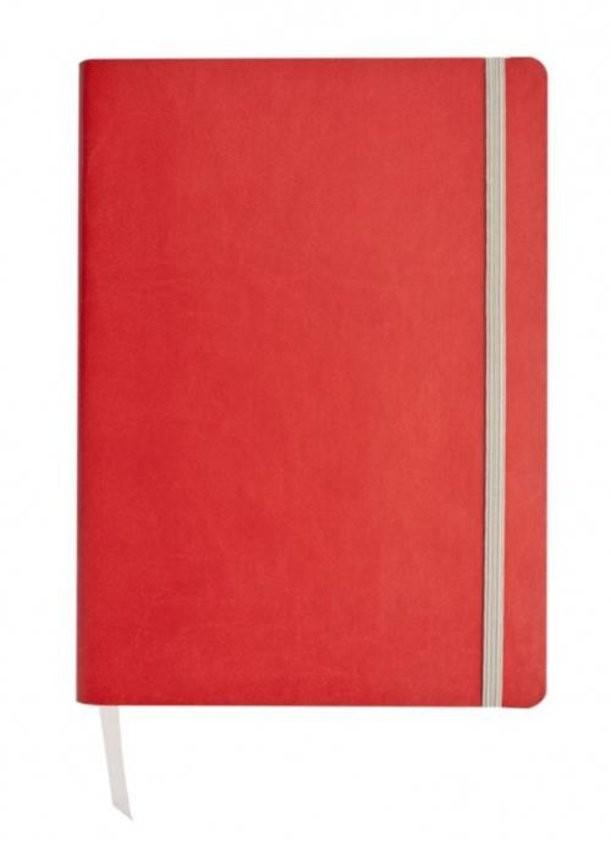 Красный недатированный жедневник Vivien