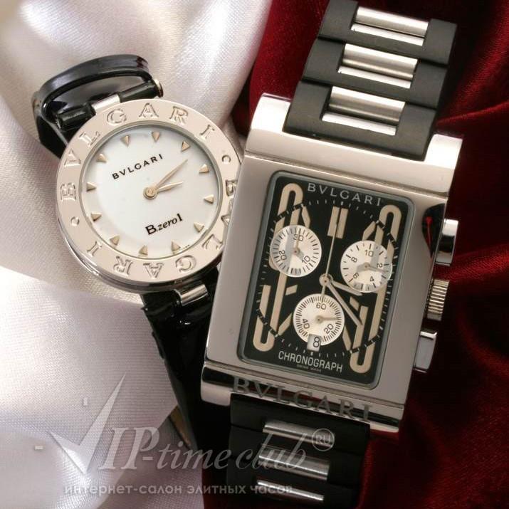 Идеальная пара часов коллекций Bvlgari