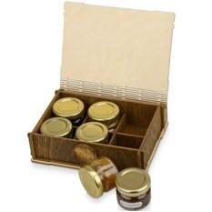Подарочный набор с мёдом и вареньем Sweetly