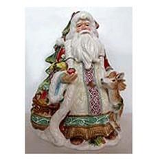 Статуэтка Дед мороз с оленем