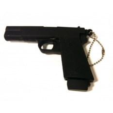 Флешка Пистолет черного цвета