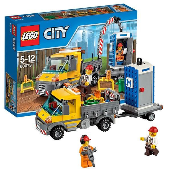Конструктор Lego City Машина техобслуживания