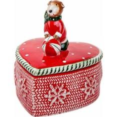 Шкатулка Медвежонок на сердце от Mister Christmas