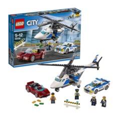 Конструктор Лего Город Стремительная погоня