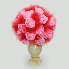 Цветы из коралла Счастье