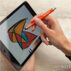 Ручка-стилус Тач-эффект (в ассортименте)