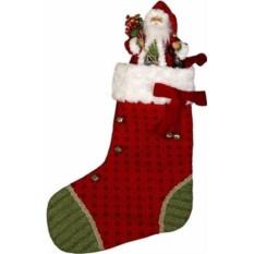 Носок для подарков Дед Мороз