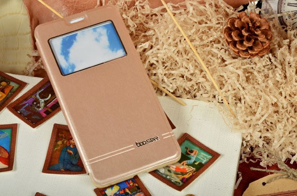 Боковой чехол - книжка с окошком для iPhone 6S / 6
