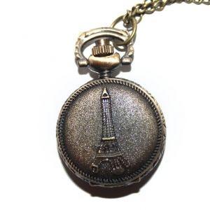 Карманные часы - кулон Маленький Париж