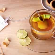 Зеленая заварочная емкость Чайная рубашка