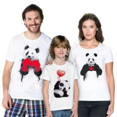 Футболки для семьи Панда