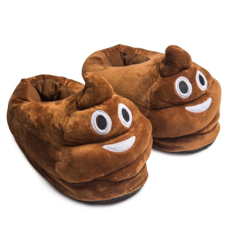 Тапочки Emoji Mr.Poo