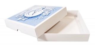Подарочная картонная коробка для сувениров