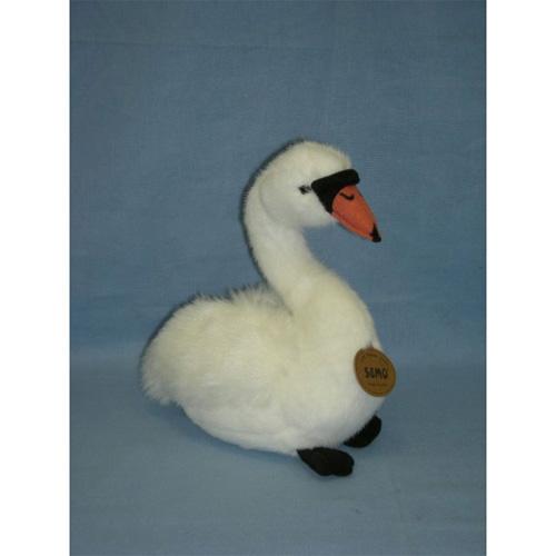 Мягкая игрушка лебедь