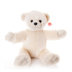 Белая мягкая игрушка Aurora Медведь. Обними меня