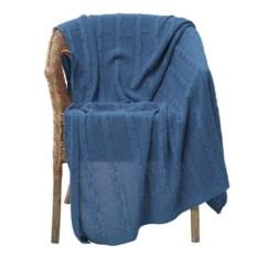 Синий плед Comfort Up