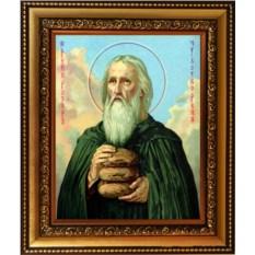Икона на холсте Прохор Печерский Преподобный Лебедник