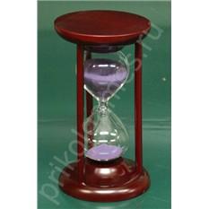 Часы песочные Вишня (15  минут, фиолетовый песок)